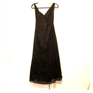 Long cotton double layer maternity sun dress